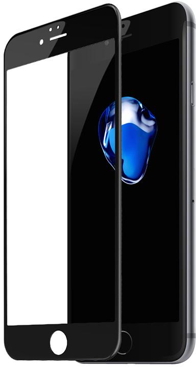 Защитное стекло Baseus Silk-screen 3D Arc Protective Film для iPhone 6/6s Black (SGAPIPH6S-B3D01)