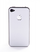 Пленка защитная EGGO iPhone 4/4S Crystalcover white BackSide (белая, перламутровая)