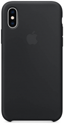Apple iPhone XS Silicone Case - Black (MRW72)