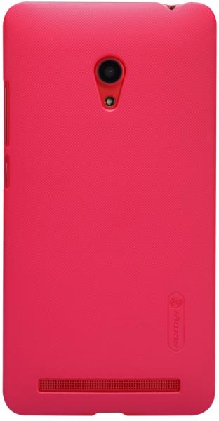 Чехол Nillkin Matte для Asus Zenfone 6 (+ пленка) (Розовый)