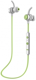 Bluetooth гарнитура Baseus B16 Comma Bluetooth Earphone Silver/Green (NGB16-06)