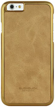 Чехол Bushbuck BARONAGE Classical Edition Genuine Leather for iPhone 6/6S (Tan) - ITMag