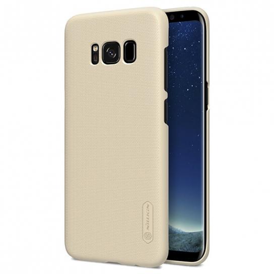 Чехол Nillkin Matte для Samsung G955 Galaxy S8+ (+ пленка) (Золотой)