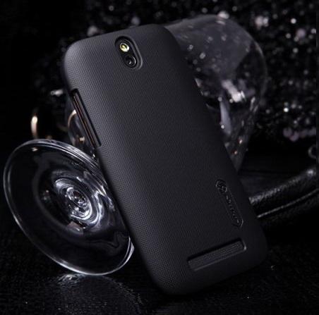 Чехол Nillkin Matte для HTC One V (+пленка) (Черный)
