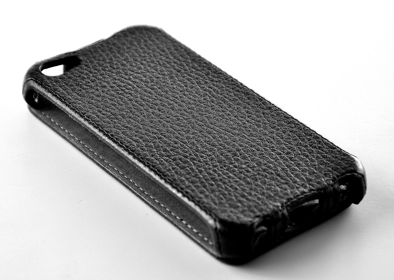 Чехол EGGO Flipcover для iPhone 5/5S (черный)