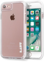 Чехол LAUT FLURO для iPhone 7 - White (LAUT_IP7_FR_W)