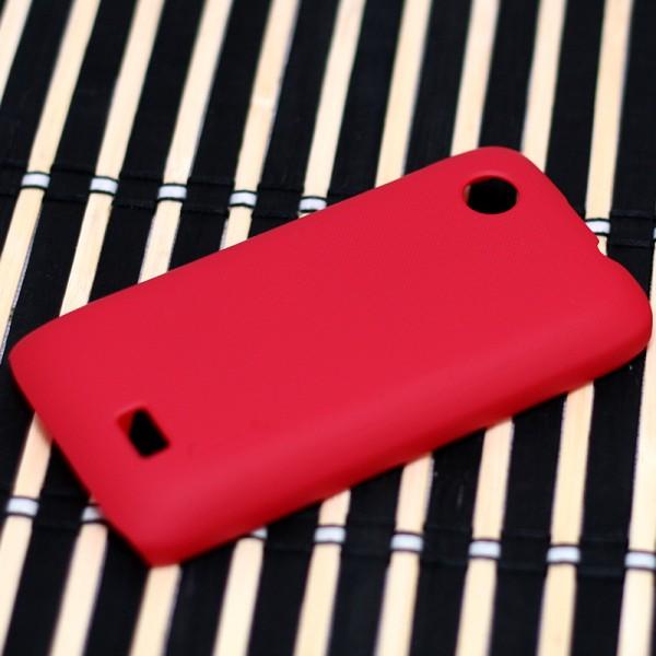 Чехол Nillkin Matte для Lenovo A369/A369i (+ пленка) (Красный)