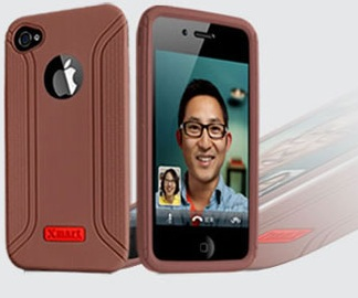 Чехол XMART Professional для Apple iPhone 4/4s brown - ITMag