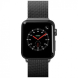 Ремешок для Apple Watch 38/40 mm LAUT STEEL LOOP Black (LAUT_AWS_ST_BK)