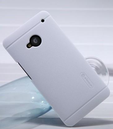 Чехол Nillkin Matte для HTC One / M7 (+пленка) (Белый)