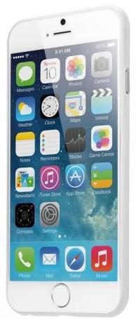 Чехол-бампер LAUT for iPhone 6/6S (+ пленка) (Прозрачный / Transparent) (LAUT_IP6_LP_C)