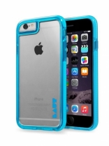 Чехол LAUT FLURO для iPhone 6 - Blue (LAUT_IP6_FR_BL)