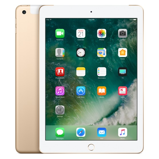 Apple iPad Wi-Fi + Cellular 128GB Gold (MPGC2)