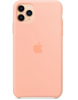 Apple iPhone 11 Pro Max Silicone Case - Grapefruit (MY1H2) Copy