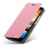 Чехол MOFI Rui Series Folio Leather Stand Case для Lenovo A916 (Розовый/Pink)