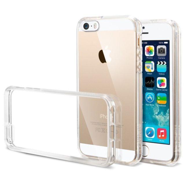 TPU чехол EGGO для Apple iPhone 5/5S/SE (Бесцветный (прозрачный))