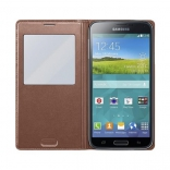 Чехол S View Cover Samsung Galaxy S5 G900H (brown)