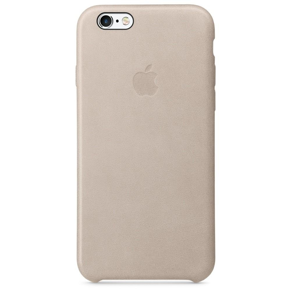 Apple iPhone 6s Leather Case - Rose Gray MKXV2