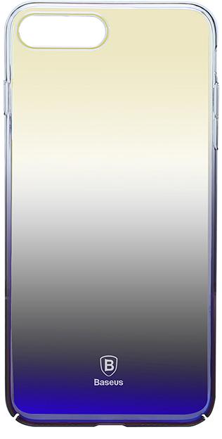 Чехол Basesus Glaze Case для iPhone7 Plus Black (WIAPIPH7P-GC01)