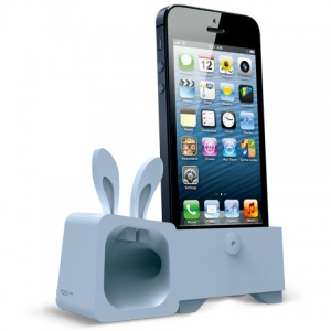 Ozaki O!music Zoo Rabbit Blue for iPhone 5 (OM936RA) - ITMag