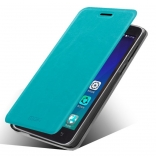 Чехол MOFI Rui Series Folio Leather Stand Case для Lenovo A606 (Бирюзовый/Blue)