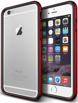 Verus Iron Bumber case for iPhone 6/6S (Black-Red) - ITMag