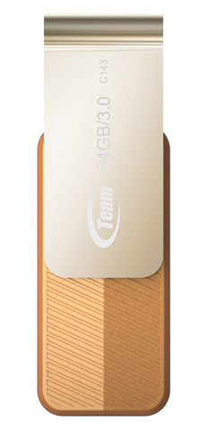 TEAM 64 GB C143 Brown (TC143364GN01)