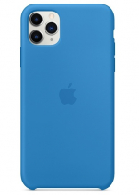 Apple iPhone 11 Pro Max Silicone Case - Surf Blue (MY1J2) Copy