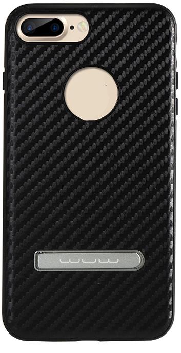Накладка WUW для iPhone 6/6S/7 (Черный карбон)