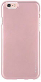 "TPU чехол Mercury iJelly Metal series для Apple iPhone 6/6s (4.7"") (Rose Gold) - ITMag"