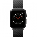Ремешок для Apple Watch 42/44 mm LAUT STEEL LOOP Black (LAUT_AWL_ST_BK)