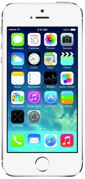 Apple iPhone 5S 16GB Silver (Factory Refurbished)