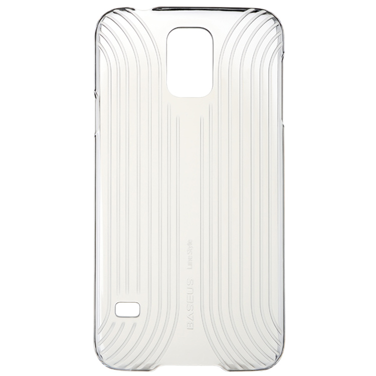 Пластиковая накладка BASEUS Line Style Series для Samsung Galaxy S5 G900F Transparent