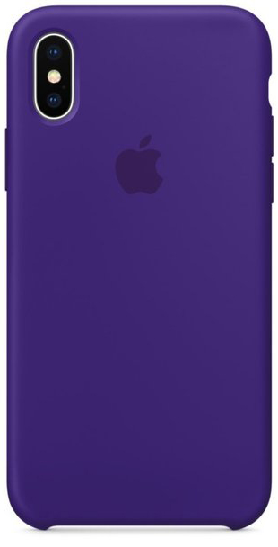 Apple iPhone X Silicone Case - Ultra Violet (MQT72)