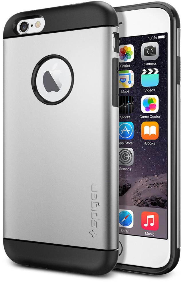 "Чехол SGP Case Slim Armor Series Satin Silver for iPhone 6/6S (4.7"") (SGP10958)"