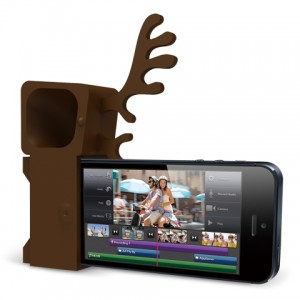 Ozaki O!music Zoo Deer Brown for iPhone 5 (OM936DA) - ITMag