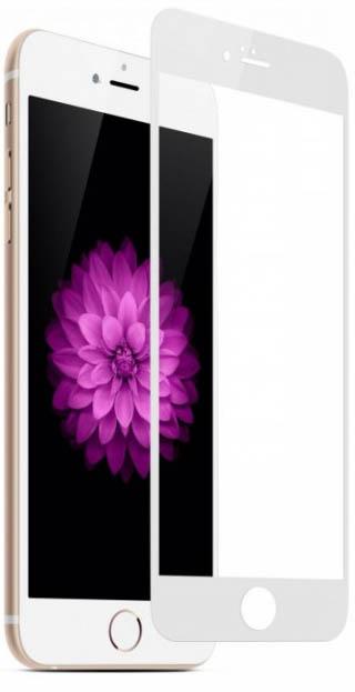 Защитное стекло Full protection Eclat iLera для iPhone 7/8 White (EclGl1118Wt)