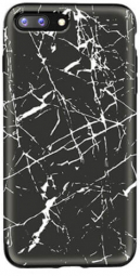 "TPU чехол Rock Origin Series (Textured marble) для Apple iPhone 7 plus / 8 plus (5.5"") (Черный / Black marble)"