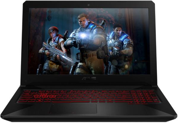 Купить ASUS TUF Gaming FX504GM Red Pattern (FX504GM-E4243)