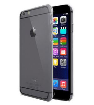 Colorant Clear case PC - Clear Black iPhone 6/6S (7515) - ITMag