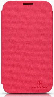 Чехол Nillkin для Samsung N7100(GALAXY Note2)Stylish Color Leather Case (красные)