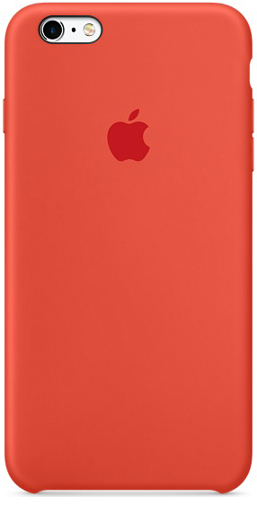 Apple iPhone 6s Plus Silicone Case - Orange MKXQ2