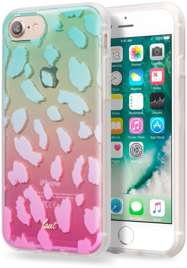 Купить Чехол LAUT OMBRE для iPhone 7 - Turquoise (LAUT_IP7_O_TU)