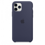 Apple iPhone 11 Pro Max Silicone Case - Midnight Blue (MWYW2) Copy