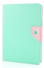 Чехол EGGO двухцветный Leather Stand Case for Samsung Galaxy Tab 3 10.1 P5200/P5210 (Pink / Cyan)