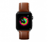 Кожаный ремешок для Apple Watch 42/44 mm LAUT OXFORD Tobacco (LAUT_AWL_OX_BR)