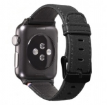 Ремешок Decoded Nappa для Apple Watch 38 mm - Black (D5AW38SP1BK)