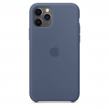 Apple iPhone 11 Pro Max Silicone Case - Alaskan Blue (MX032) Copy
