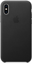 Apple iPhone XS Leather Case - Black (MRWM2)