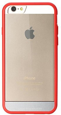 "TPU+PC чехол Rock Enchanting Series для Apple iPhone 6/6S (4.7"") (Красный / Red) - ITMag"